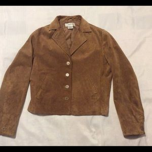 Bagatelle leather women's jacket, size 8,